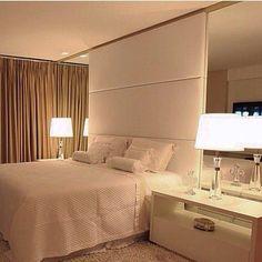 "604 Likes, 12 Comments - i'm arquitetura (@im_arquitetura) on Instagram: ""Night night... {arq. desconhecido, quem souber avisa aqui } #bedroom #quartodecasal…"""