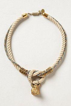 Javelina Rope Necklace