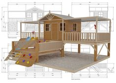 Timber Top Mansion cubby house, australian-made, kids cubby houses, cubby houses for sale, cubby houses