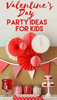 Adorable Ideas for Valentine's Day Parties for Kids