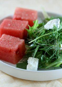 Watermelon Salad - mint, fennel, goat cheese