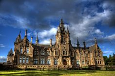 Morgan Academy, Dundee. It's a school, but was once a house.