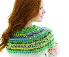 Ravelry: Rime Cardigan pattern by Yoko Hatta (風工房) Fair Isle Knitting, Knitting Yarn, Hand Knitting, Knitting Patterns, Cardigan Pattern, Crochet Cardigan, Crochet Quilt, Knit Crochet, Handgestrickte Pullover