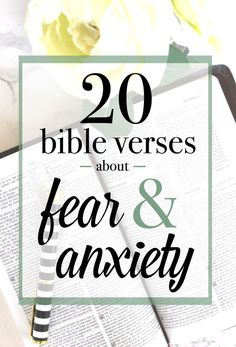 Encouraging Bible Verses:Braving an eating disorder alone can take you to a very dark place, so here are 20 uplifting Bible verses about anxiety and fear. Bible Verses About Fear, Uplifting Bible Verses, Bible Verses Quotes, Scriptures, Fear Quotes, Prayer Quotes, Qoutes, Bible Verse Tattoos, Anxiety Attacks Symptoms