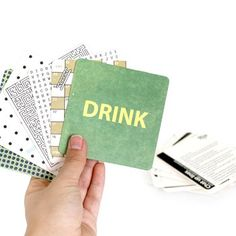 Funny Beer Coaster Games, Drink Coaster with Games at The Onion Store