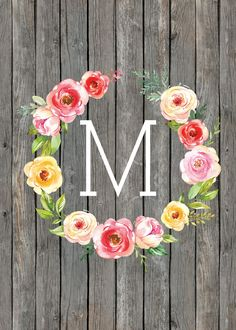 TCM-Farmhouse-Flower-Monogram-5x7-M.jpg (1500×2100)