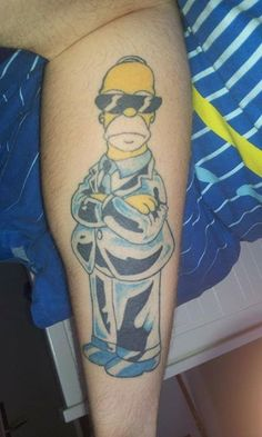 homer tattoo taken from https://www.facebook.com/pages/Tatoos/119346071420562