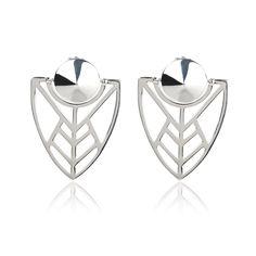 "Boucles ""Orci"" - Vélizance - Argent  #Bijoux #Jewels #Silver #Gold #Design #Tendance #Bijou #FashionJewelry #Velizance"