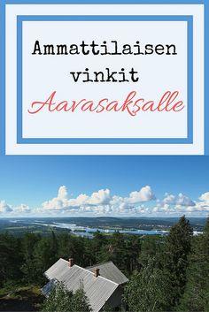 Ammattilaisen vinkit Aavasaksan seudulle: Lappi on lähellä! | Live now – dream later -matkablogi