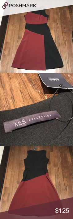 M&S Collection Dress - New! New with tag. UK 10 is equivalent to a US 8. Marks & Spencer Dresses Midi