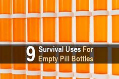 9 Survival Uses for Empty Pill Bottles Off Grid Survival, Survival Tools, Survival Prepping, Ultimate Survival Tips, Survival First Aid Kit, Hide A Key, Pill Bottles, Urban Survival, Building For Kids