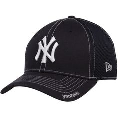 eb44dd078b7 New Era New York Yankees Navy Blue Neo 39THIRTY Stretch Fit Hat