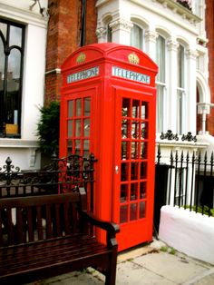 - Maida Vale, Telephone Booth, Post Box, Landline Phone, Boxes, London, Red, Crates, Mailbox