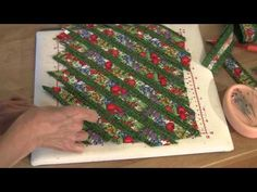 ▶ Fons & Porter: Sew Easy, Weaving Fun - YouTube