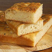 super easy foccacia bread!