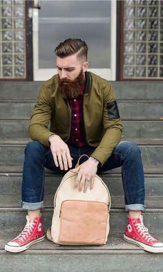 Levi stocke beard