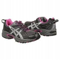Asics GEL VENTURE Women's Trail Running Shoes Titanium White Elect Medium All Sz