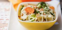 Quick Cheesy Salmon Pasta(9mnths)