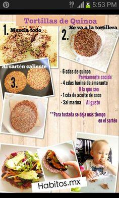 Tortillas de Quinoa