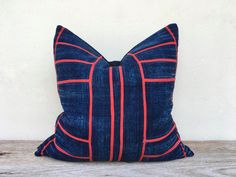 Vintage Cotton Tribal Hand Print Patch Work Pillow Case