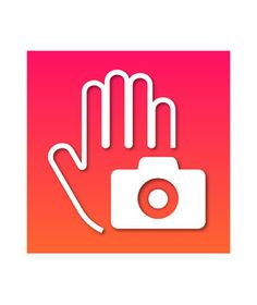 Hands-Free Camera You've happened upon a fabulous photo op, but there's no one around to take your picture. Instead of settling for the Extended-Arm Selfie, use this free app to take a hands-free shot. How? Simply place your iPhone a few feet away, step into the camera's frame, raise your hand, then close your palm. The app will pick up the gesture, activating a three-second countdown, followed by a snap.