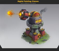 cannon tower by lepyoshka on DeviantArt