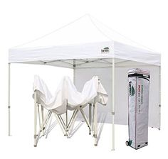 Canopies Gazebos and Pergolas - Eurmax 10x10 Easy Pop up Canopy Outdoor Commercial Instant Trade  sc 1 st  Pinterest & Commercial Grade STD 10x10 White Canopy Tent Pop up Gazebo Canopy ...