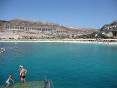 CANARIAS  FOTOS   Canary Islands Photos: PLAYA DE AMADORES EN MOGAN GRAN CANARIA