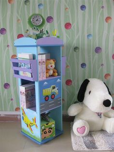 dormitorio de niños con libros - Buscar con Google