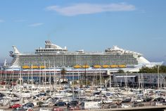 Größtes Kreuzfahrtschiff Harmony of the Seas im Kreuzfahrthafen - Palma de Mallorca - NEWS PORTAL MALLORCA Info Seiten der Balearen seit 2007