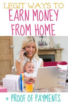 New List of Ways to Earn Money from Home (List of Legit Survey Companies) + Proof You Earn Money!