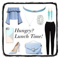 Designer Clothes, Shoes & Bags for Women Wolf Moon, Cynthia Rowley, Casetify, Lunch, Shoe Bag, Polyvore, Stuff To Buy, Shopping, Collection