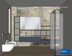 bagno padronale progetto realizzato da www.instudio-design.com