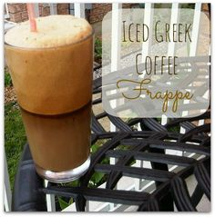 I love Frappe! Here's a simple recipe to the Greek cold coffee drink.