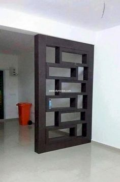 roomdivider-ideas-diy-bedroom-curtain-ikea-studio-livingroom-temporary-basement-cheap-half-wall-sliding-hanging-rustic-space-dividers-b/ SULTANGAZI SEARCH Living Room Partition Design, Living Room Divider, Room Divider Walls, Room Partition Designs, Diy Room Divider, Partition Ideas, Room Divider Shelves, Divider Cabinet, Bookcase Shelves