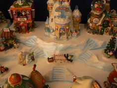 Explore 56th and Main's photos on Flickr. 56th and Main has uploaded 741 photos to Flickr. Diy Christmas Village Platform, Christmas Village Display, Christmas Villages, Christmas Candy, Christmas Diy, North Pole, Christianity, Create, Explore