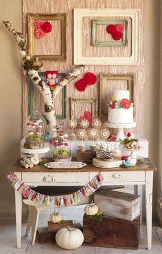 Woodland Owl Party with So Many Darling Ideas via Kara's Party Ideas | KarasPartyIdeas.com #OwlParty #WoodlandParty #PartyIdeas #Supplies