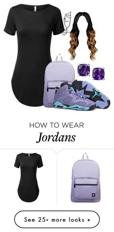 """Untitled #575"" by kittycupkake001 on Polyvore featuring Herschel Supply Co. and NIKE"
