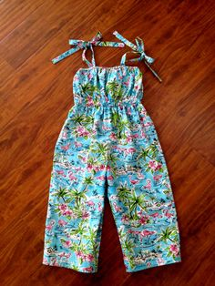 Vintage Inspired Romper Retro Sunsuit by BabySuzannaJohanna, $35.00