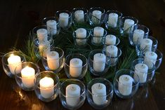 advent wreath - very cool...but where to put it???