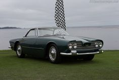 Maserati 5000 GT Touring Coupe (Chassis 103.004 - 2014 Pebble Beach Concours d'Elegance) High Resolution Image