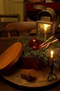 Primitive Christmas / gorgeous display