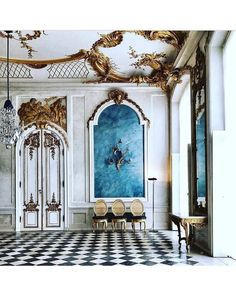[New] The 10 Best Home Decor (with Pictures) Palace Interior, Interior And Exterior, Beautiful Interiors, Beautiful Homes, New Palace, Vintage Interiors, Classical Architecture, Beautiful Architecture, Art Deco Design