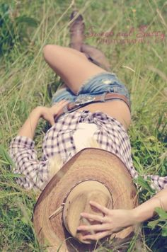 Country girl!!! After I get to the size I want Kristina will be doing this shot for me :)