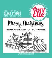 Christmas Packages Clear Stamps | Avery Elle