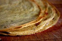 chickpea flatbread (gluten free and vegan).