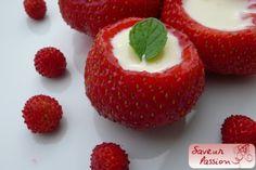 fraises à la crème, revisitées