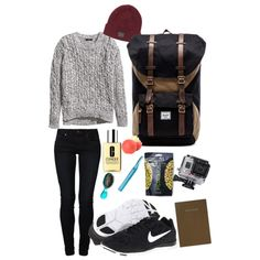 """""""Adventure Time"""" by lilyshipwreck on Polyvore  #campingoutfits #outdoorOutfits"""