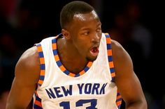 The rookie point guard needed an assist. On his best night as a Knick, Jerian Grant needed help to button the top button of his shirt as he wanted to look his best after the game. A Knicks official...