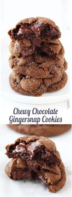 Oh my!! These are so chewy, gooey, and yummy! Our FAVORITE Christmas cookie!